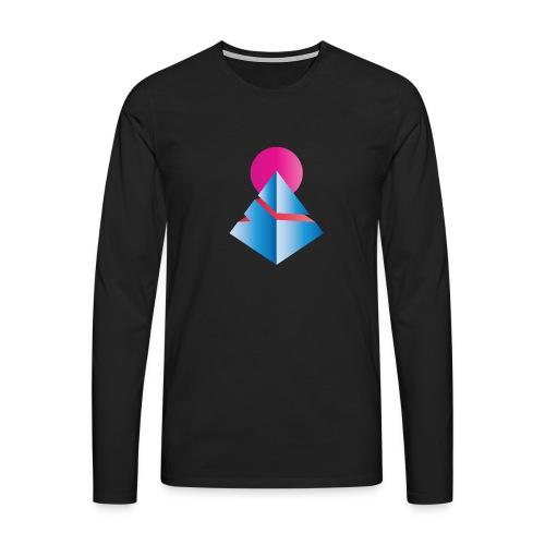 Neo-Pyramid - Männer Premium Langarmshirt