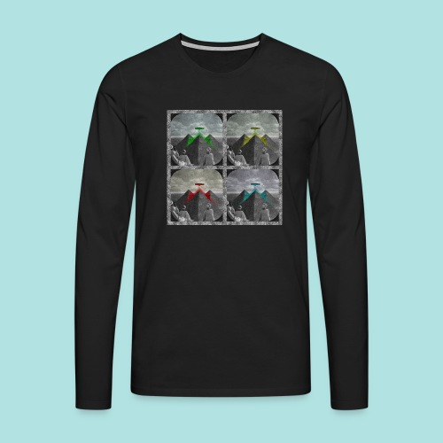 Invasion of the Giza Tombs - Men's Premium Longsleeve Shirt