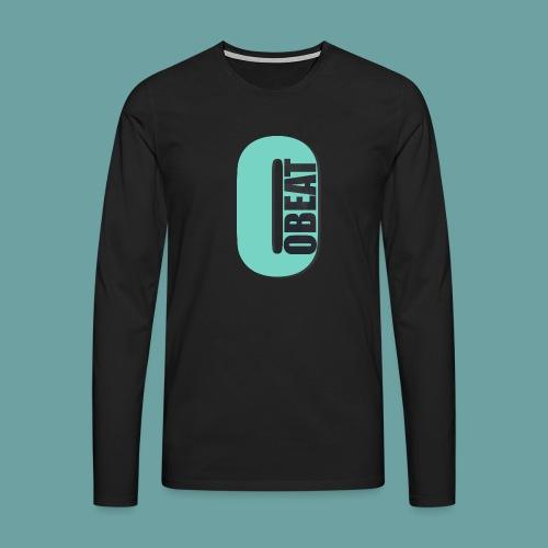 OBeat Logo O - Mannen Premium shirt met lange mouwen