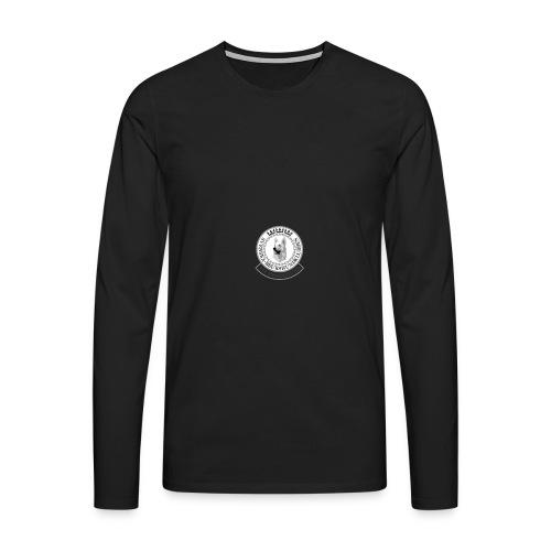 vhk-ny-logo-pos - Långärmad premium-T-shirt herr