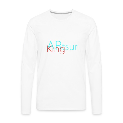 ARtsurKing Logo - Men's Premium Longsleeve Shirt