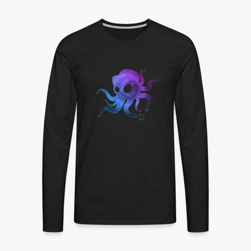 Space Squid - Herre premium T-shirt med lange ærmer