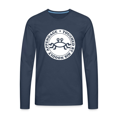 Touched by His Noodly Appendage - Men's Premium Longsleeve Shirt