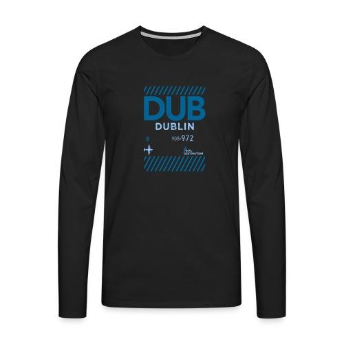 Dublin Ireland Travel - Men's Premium Longsleeve Shirt