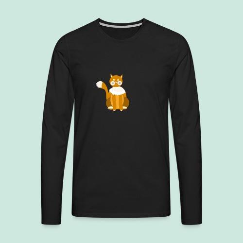 Kitty cat - Men's Premium Longsleeve Shirt