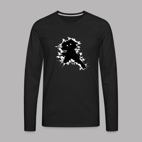 Charlie The Scratch Kid - Men's Premium Longsleeve Shirt