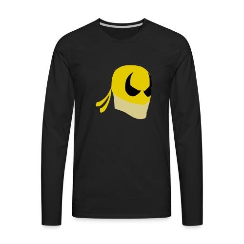 Iron Fist Simplistic - Men's Premium Longsleeve Shirt