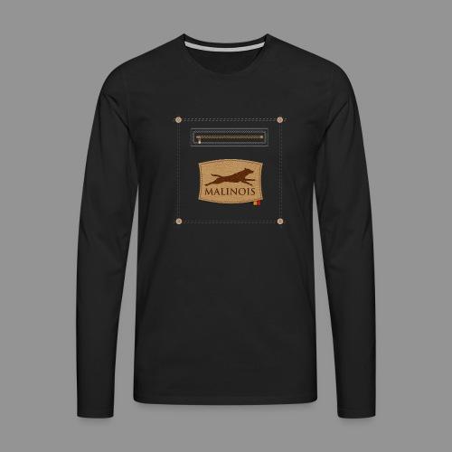 Belgian shepherd Malinois - Men's Premium Longsleeve Shirt