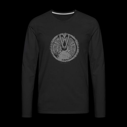 Maschinentelegraph (gray oldstyle) - Men's Premium Longsleeve Shirt