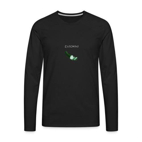 Zuschini - Männer Premium Langarmshirt