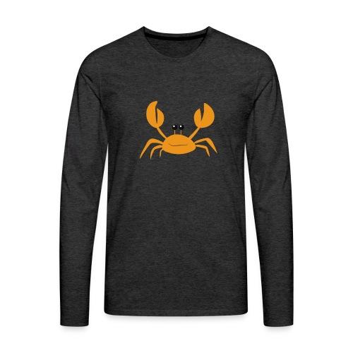 crab - Maglietta Premium a manica lunga da uomo