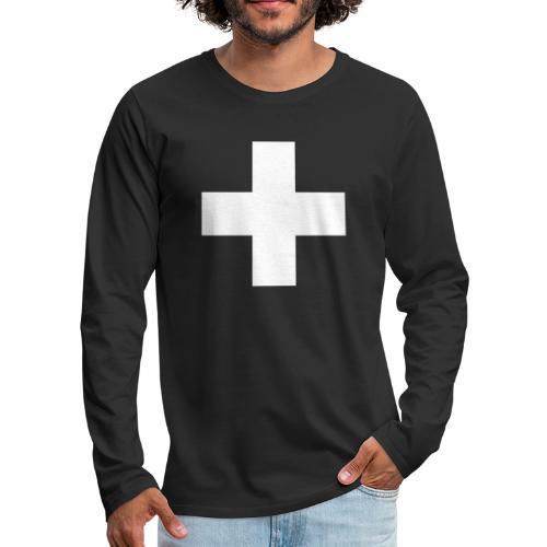 Kreuz - Männer Premium Langarmshirt