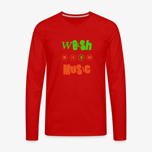 Welsh Music - Men's Premium Longsleeve Shirt