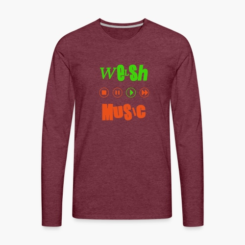 Welsh Music - Men's Premium Longsleeve Shirt