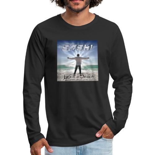 Life Is A Beach Cover - Men's Premium Longsleeve Shirt