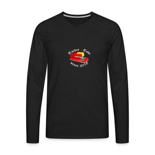 Tacker-Tobi - Männer Premium Langarmshirt