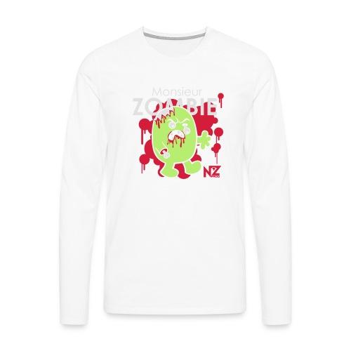 mr zombie - T-shirt manches longues Premium Homme