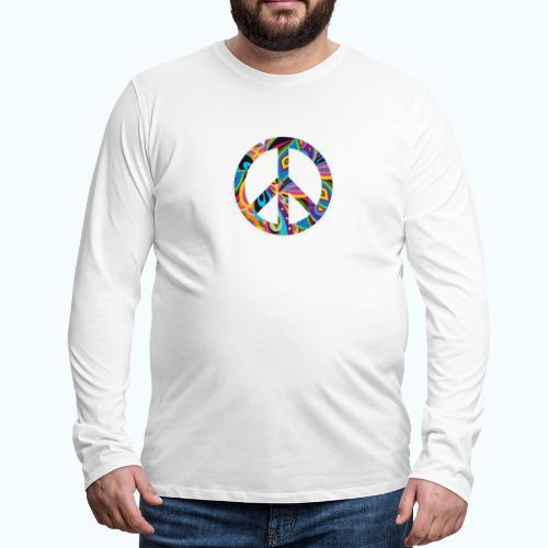 70s vintage hippie - Men's Premium Longsleeve Shirt