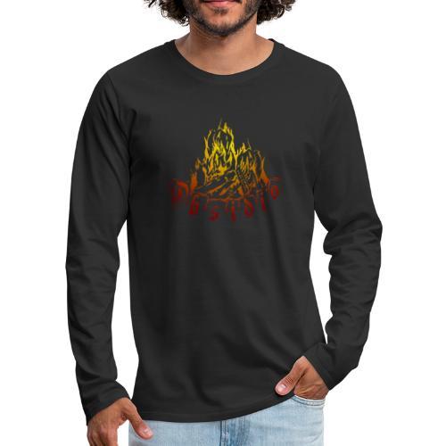 Obsidio Feuer - Männer Premium Langarmshirt