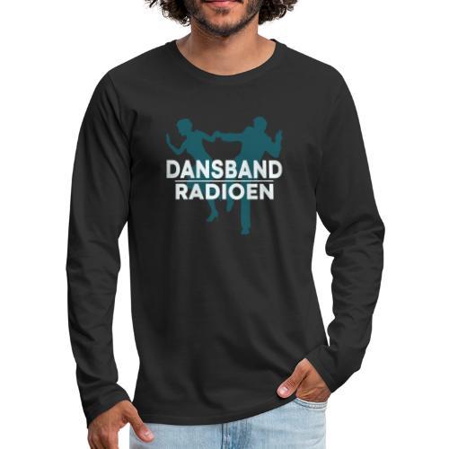 Dansbandradioen - Premium langermet T-skjorte for menn