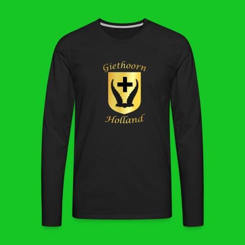 Giethoorn 2 - Mannen Premium shirt met lange mouwen