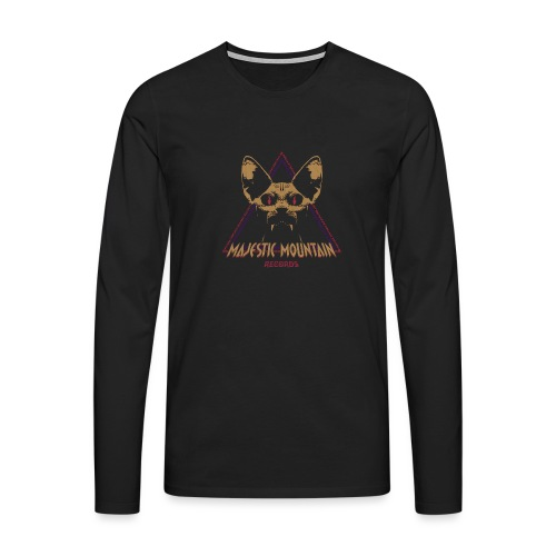 Majestic Mountain Records CLR - Långärmad premium-T-shirt herr