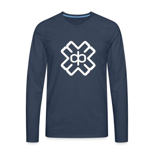 d3eplogowhite - Men's Premium Longsleeve Shirt