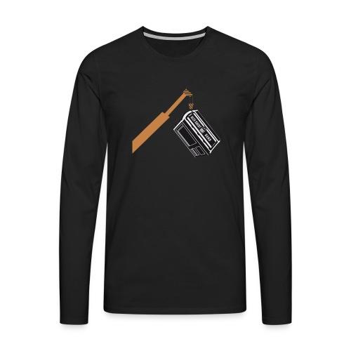 AKUB - Männer Premium Langarmshirt