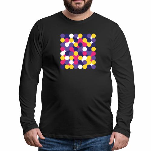 Geometric art - Men's Premium Longsleeve Shirt