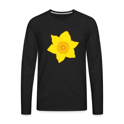 Osterglocke - Männer Premium Langarmshirt