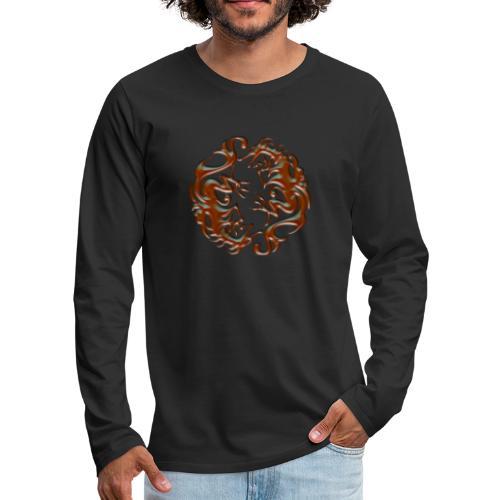 House of dragon - Camiseta de manga larga premium hombre
