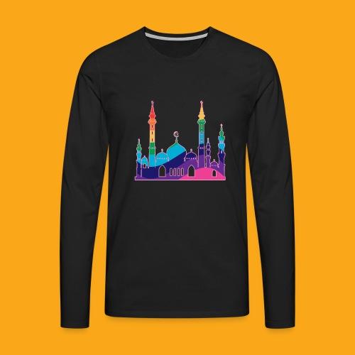 Moschee - Männer Premium Langarmshirt