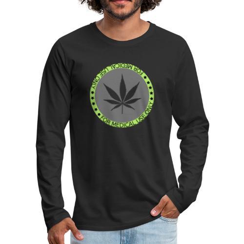 WEED2 - Männer Premium Langarmshirt