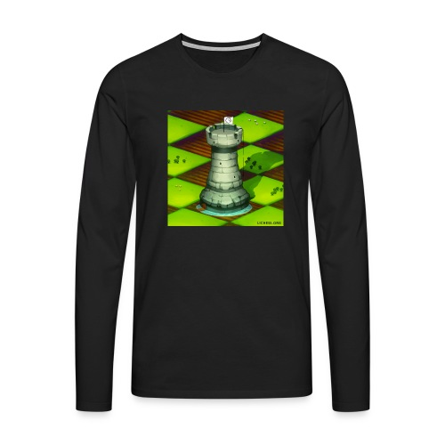 Lichess Castle - Men's Premium Longsleeve Shirt