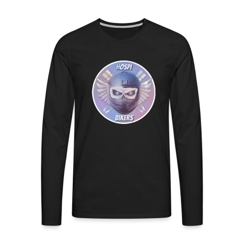 hospibikers metal - Camiseta de manga larga premium hombre