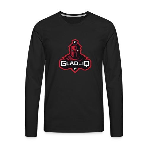 Glad_IQ Logo 1 - Männer Premium Langarmshirt