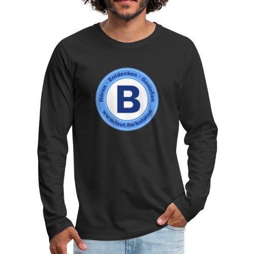 Webradio Balaton - Männer Premium Langarmshirt