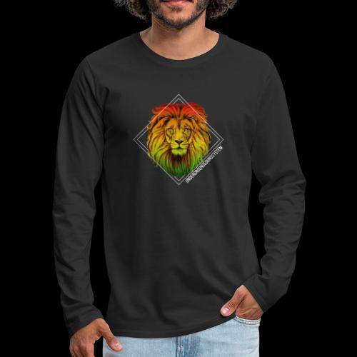 LION HEAD - UNDERGROUNDSOUNDSYSTEM - Männer Premium Langarmshirt