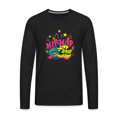 hiphop_style - Männer Premium Langarmshirt