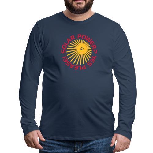 BD Solar Power - Männer Premium Langarmshirt