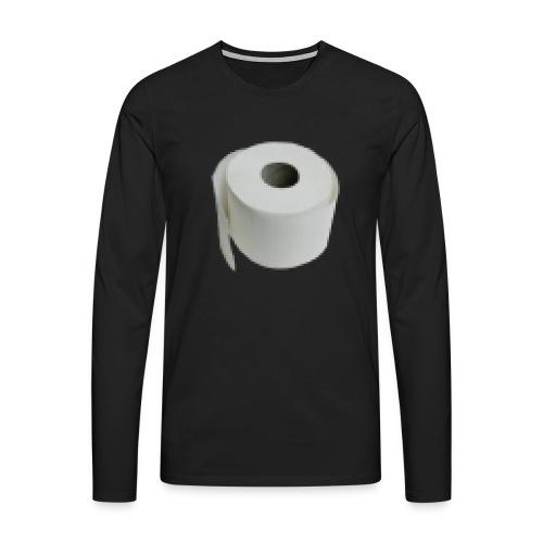 Pixel Papier - Männer Premium Langarmshirt