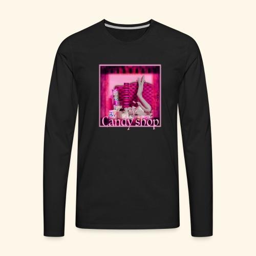 CANDY SHOP - T-shirt manches longues Premium Homme