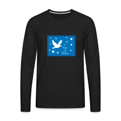Peace at Christmas - Men's Premium Longsleeve Shirt