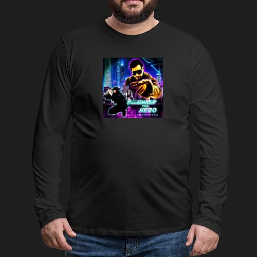 Enter the Hero - Miesten premium pitkähihainen t-paita