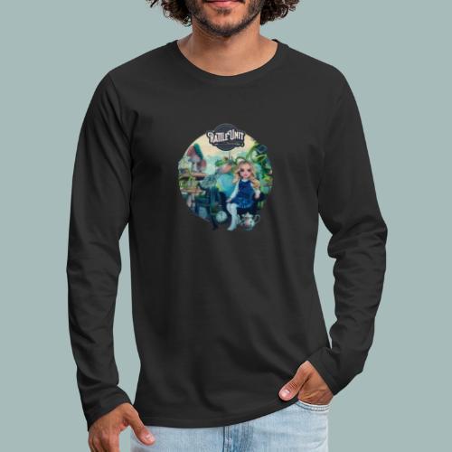 Letting Go Merch - Mannen Premium shirt met lange mouwen