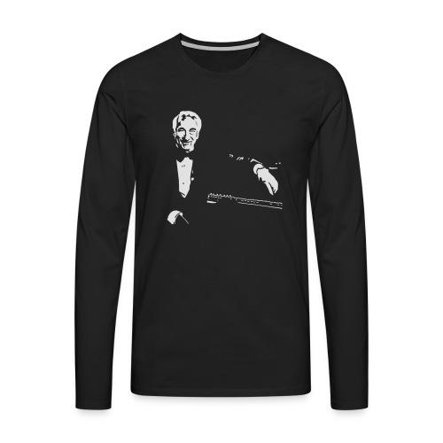 Victor Borge - Männer Premium Langarmshirt
