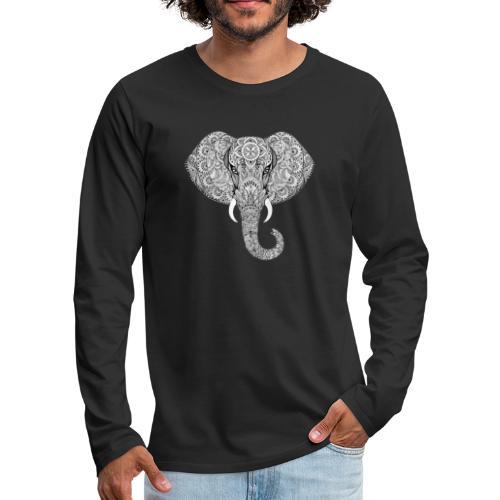 Elephant - T-shirt manches longues Premium Homme