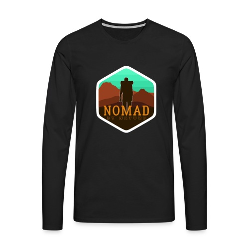 Nomad By Nature - Männer Premium Langarmshirt