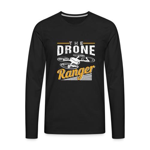 The Drone Ranger | Awesome Pilot - Männer Premium Langarmshirt