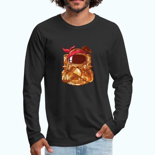 Rebel astronaut - Men's Premium Longsleeve Shirt